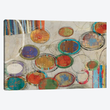 Oval And Oval Canvas Print #PST550} by PI Studio Canvas Art