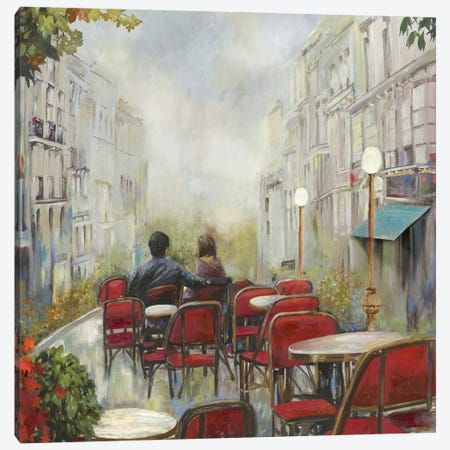 Paris Café Canvas Print #PST559} by PI Studio Canvas Wall Art