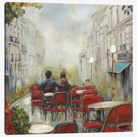 Paris Café Canvas Print #PST559} by PI Studio Canvas Wall Art