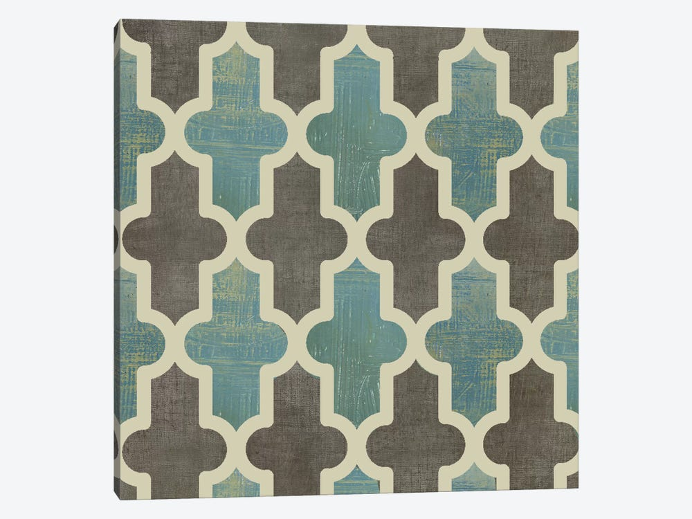 Parisian Pattern II 1-piece Canvas Art Print