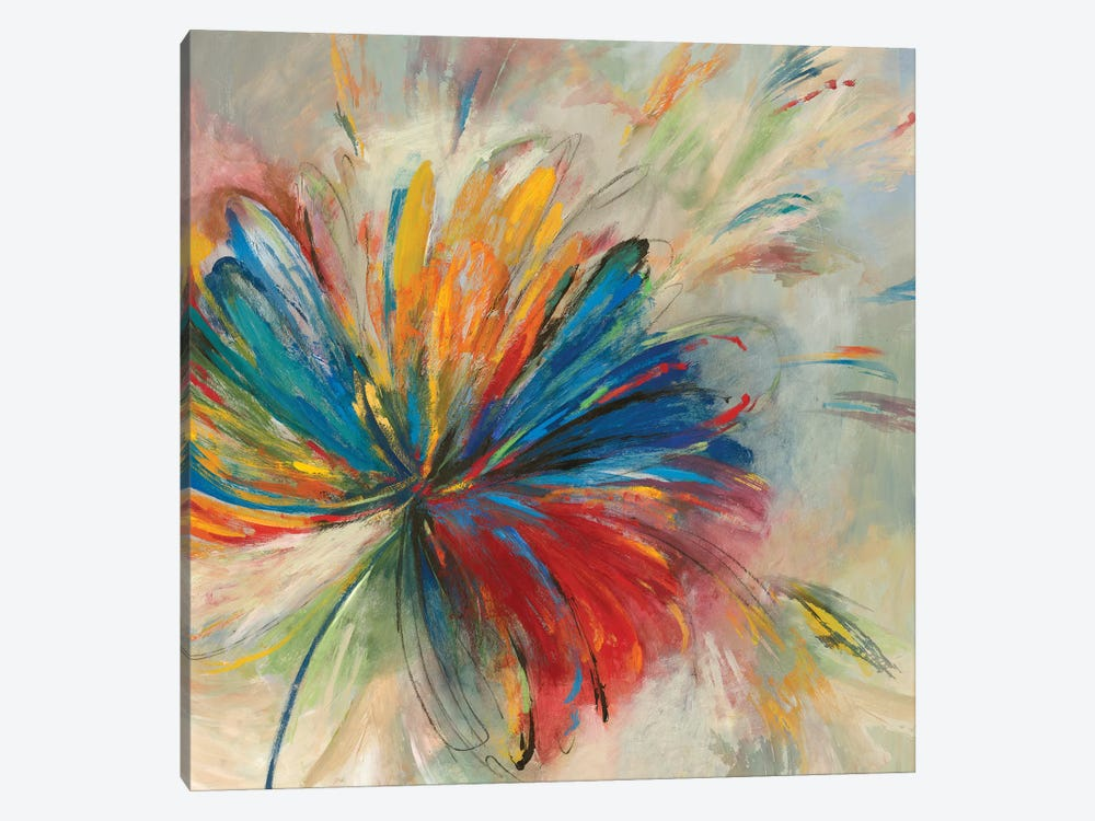 Passion Flower by PI Studio 1-piece Canvas Art Print