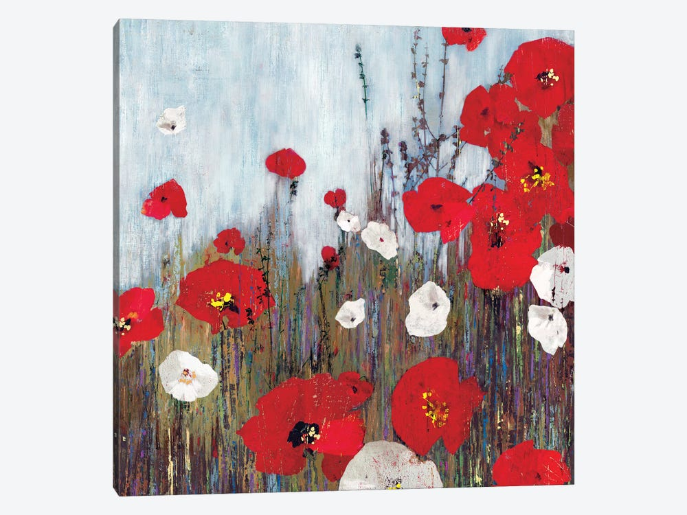 Passion Poppies II by PI Studio 1-piece Canvas Art Print