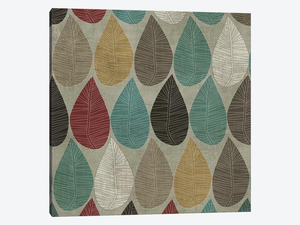 Pattern Leaves by PI Studio 1-piece Canvas Art Print