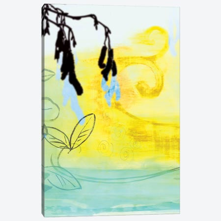 Pea Pods Canvas Print #PST570} by PI Studio Canvas Wall Art