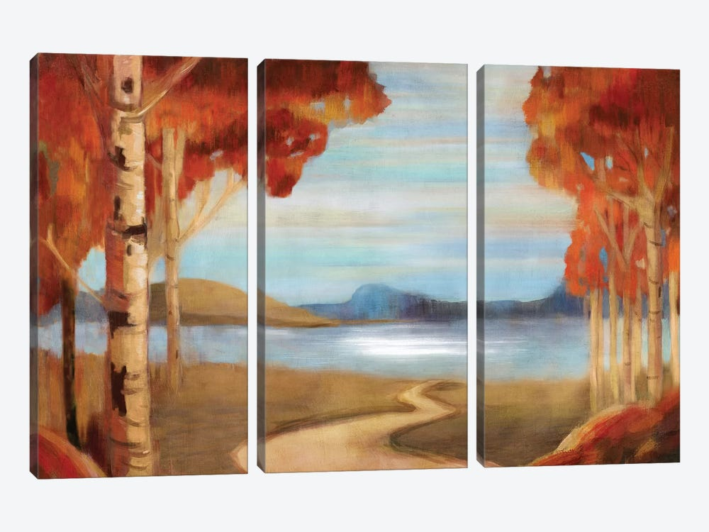 Peaceful Reservation by PI Studio 3-piece Canvas Wall Art