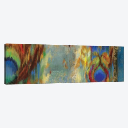 Peacock Abstract Canvas Print #PST573} by PI Studio Canvas Art