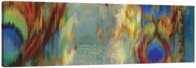 Peacock Abstract Canvas Art Print