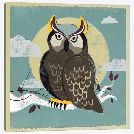 Perched Owl Canvas Print #PST580} by PI Studio Canvas Art Print