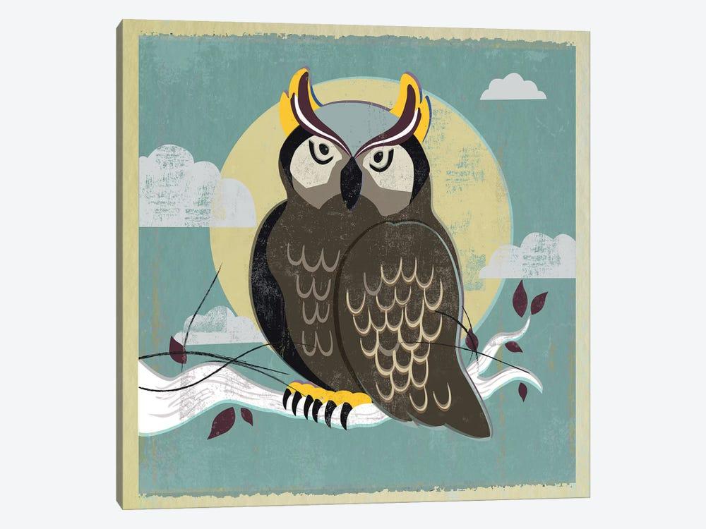 Perched Owl by PI Studio 1-piece Canvas Art