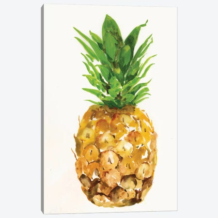 Pineapple I Canvas Print #PST586} by PI Studio Canvas Art