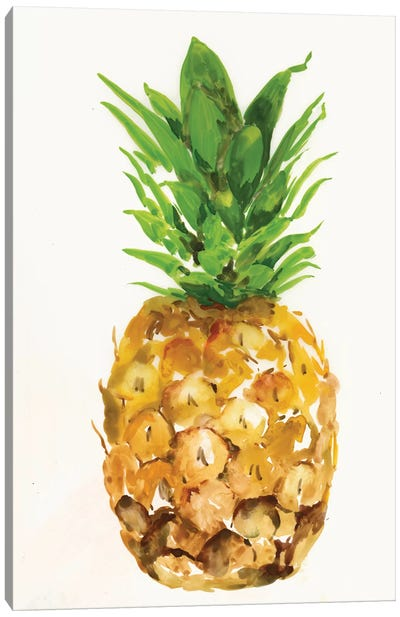 Pineapple I Canvas Art Print