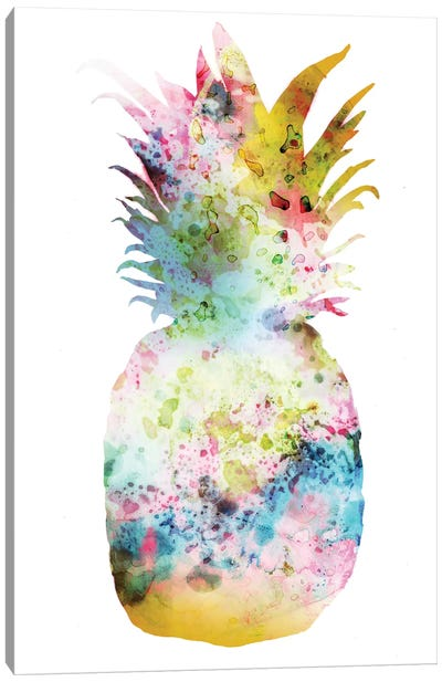 Pineapple II Canvas Art Print