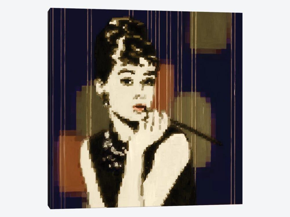 Pixeled Hepburn by PI Studio 1-piece Canvas Art