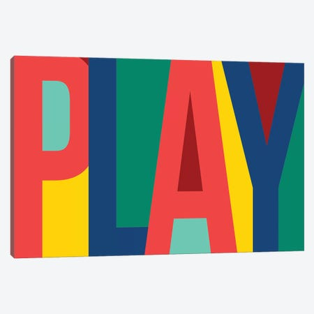 Play Canvas Print #PST590} by PI Studio Canvas Art