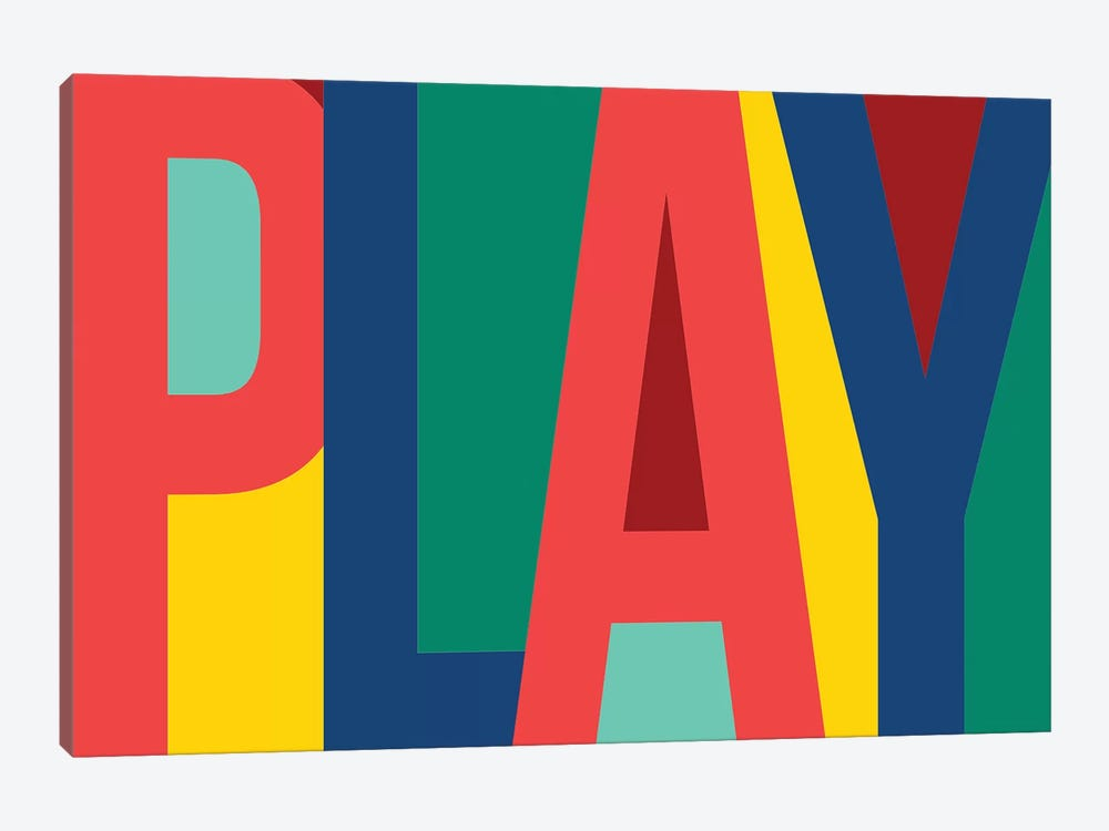 Play by PI Studio 1-piece Art Print