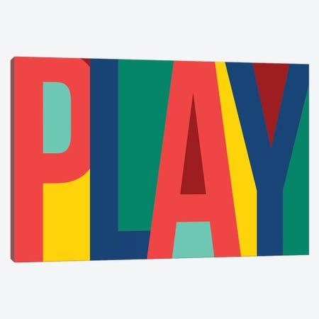 Play Canvas Print #PST590} by PI Studio Canvas Art