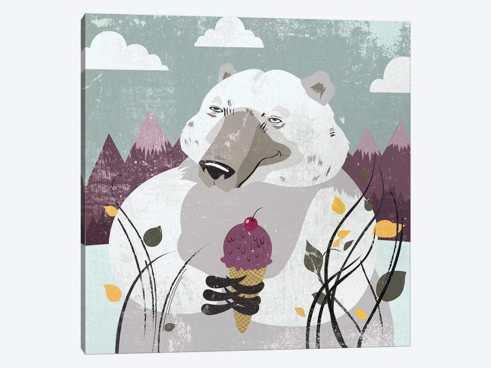 Polar Bear by PI Studio 1-piece Canvas Art