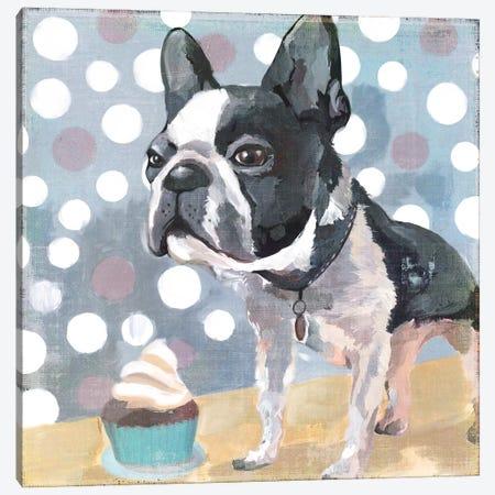 Pug Birthday Canvas Print #PST605} by PI Studio Canvas Print