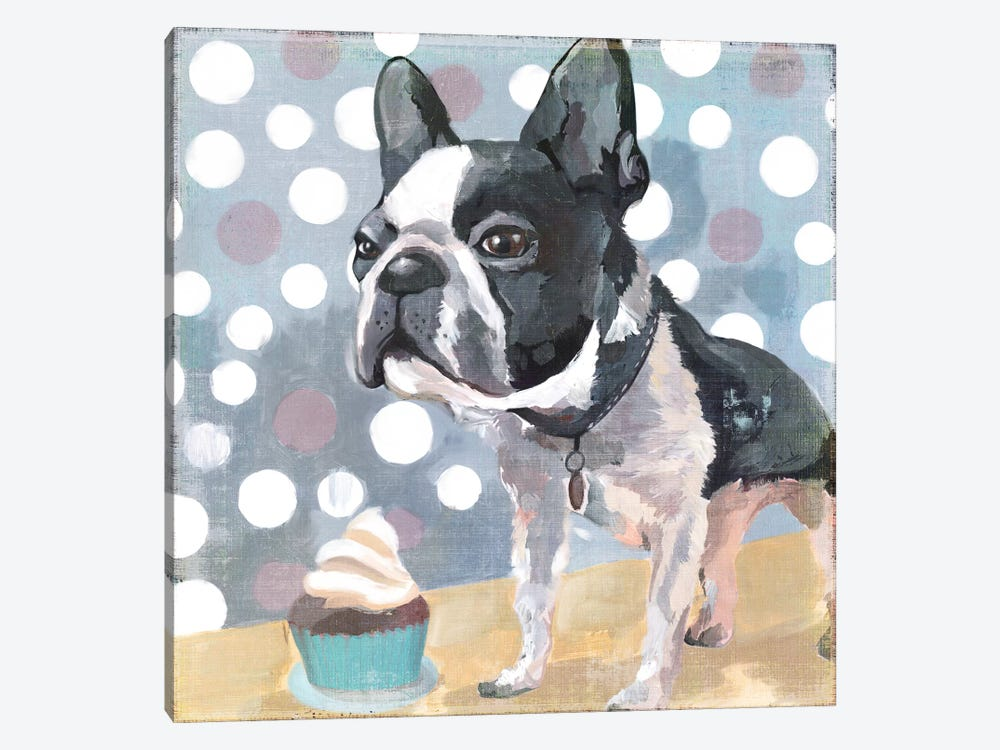 Pug Birthday by PI Studio 1-piece Art Print