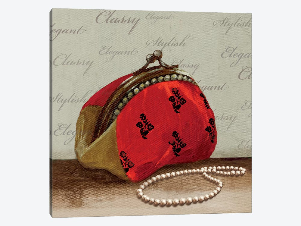 Red Bag by PI Studio 1-piece Canvas Art Print