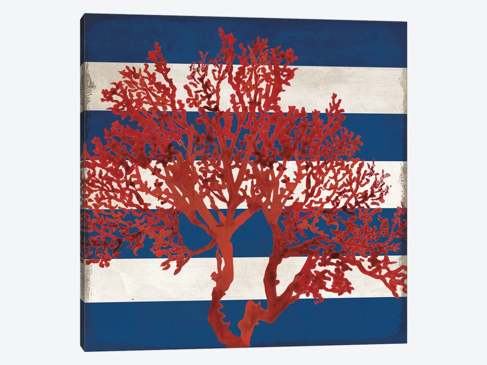 Red Coral I by PI Studio 1-piece Canvas Wall Art
