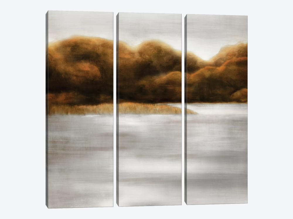Red Landscape III by PI Studio 3-piece Canvas Artwork