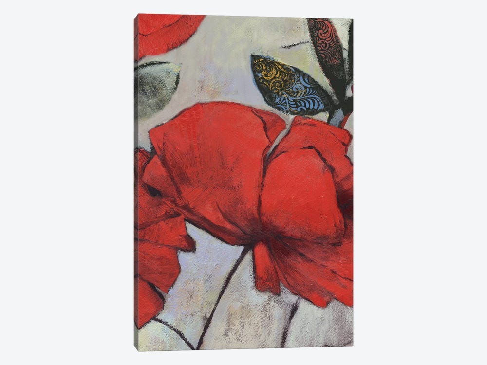 Red Poppy I by PI Studio 1-piece Art Print