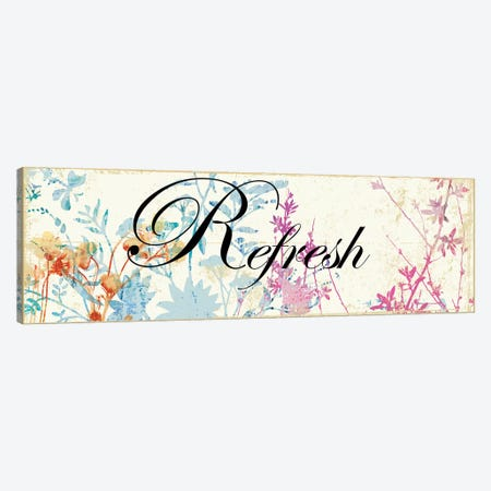 Refresh Wildflowers Canvas Print #PST621} by PI Studio Canvas Artwork