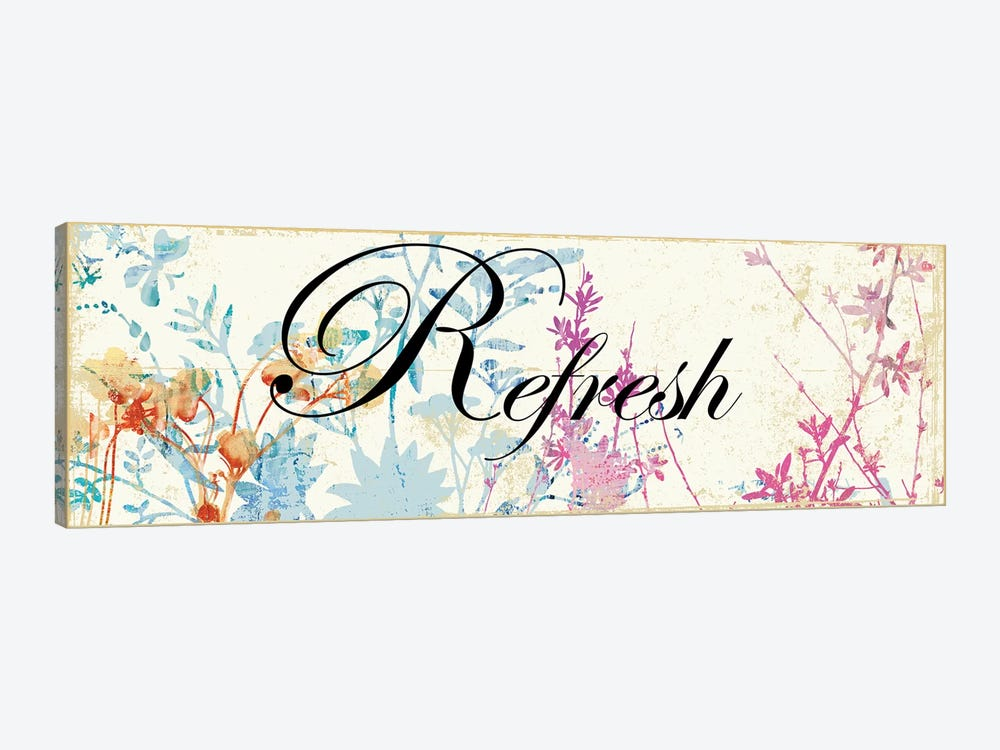 Refresh Wildflowers by PI Studio 1-piece Art Print