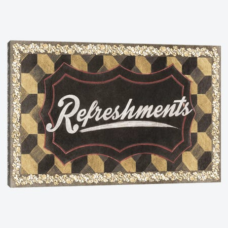 Refreshments Canvas Print #PST622} by PI Studio Canvas Artwork