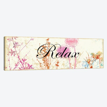 Relax Wildflowers Canvas Print #PST627} by PI Studio Canvas Art Print