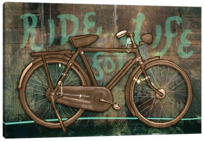 Ride For Life Canvas Art Print