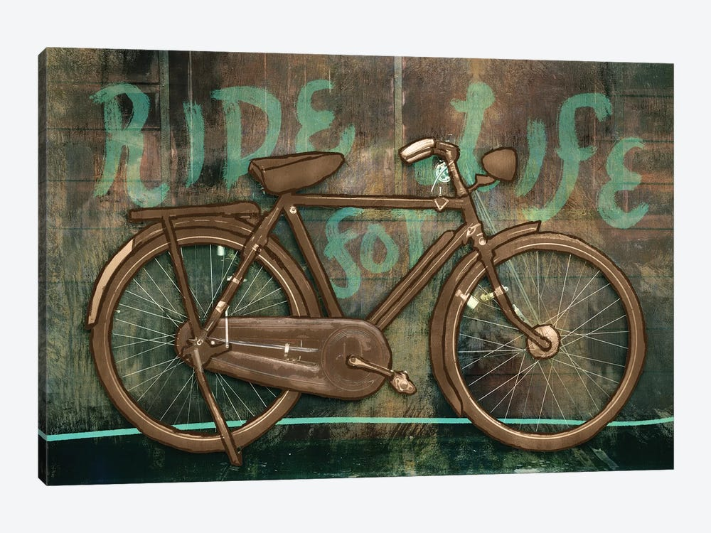 Ride For Life 1-piece Canvas Print
