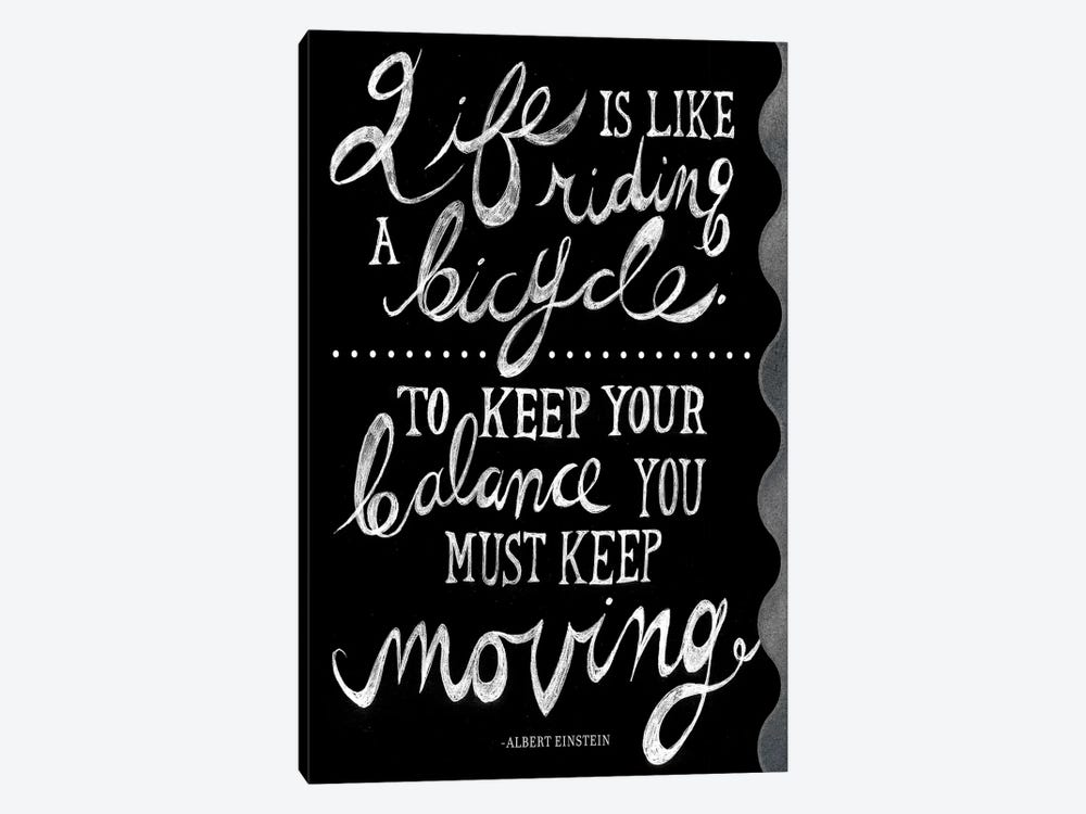 Riding A Bicycle by PI Studio 1-piece Canvas Wall Art