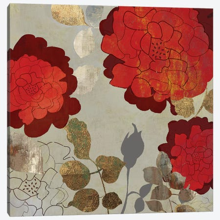 Rosa I Canvas Print #PST640} by PI Studio Canvas Wall Art