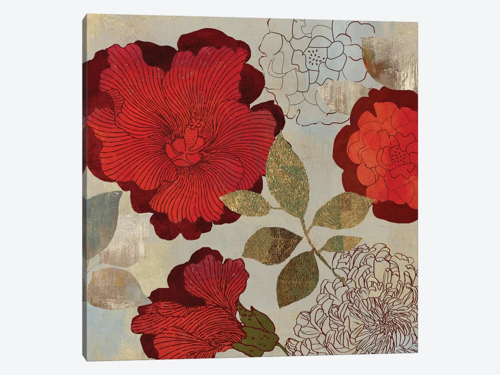 Rosa II by PI Studio 1-piece Canvas Print
