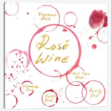 Rose Wine Canvas Print #PST642} by PI Studio Canvas Art