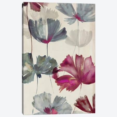 Ruffled Petals II Canvas Print #PST648} by PI Studio Canvas Wall Art
