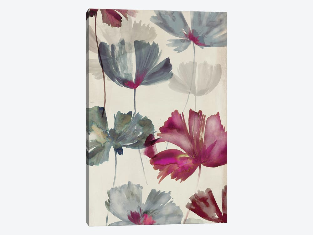 Ruffled Petals II by PI Studio 1-piece Canvas Wall Art