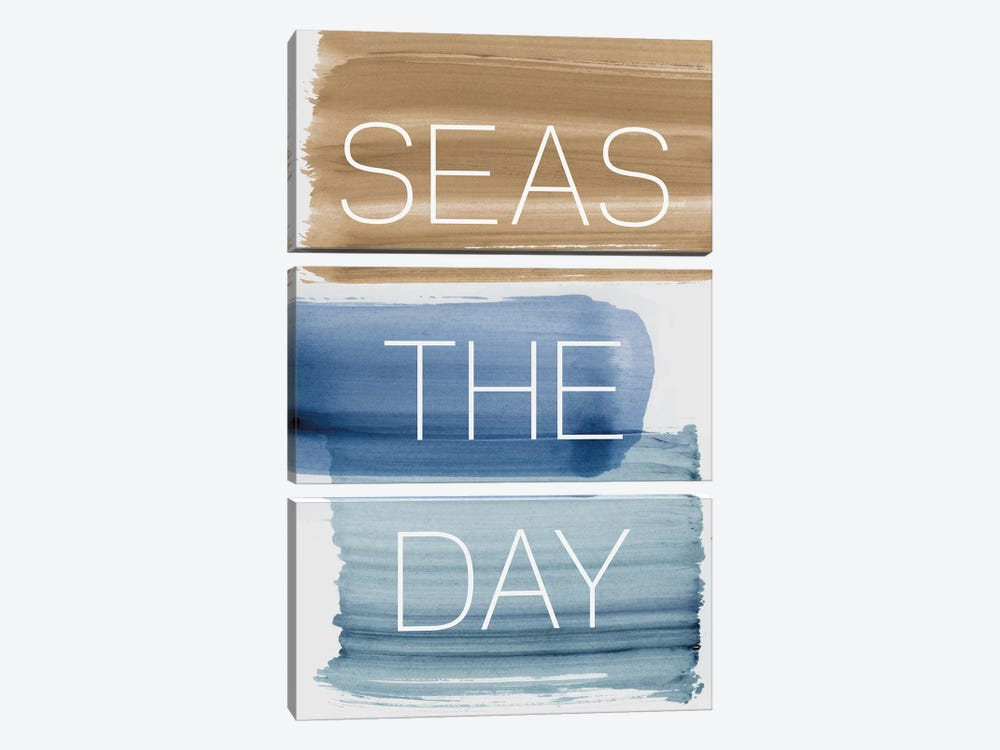 Seas The Day by PI Studio 3-piece Canvas Wall Art