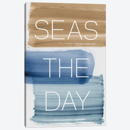 Seas The Day Canvas Print #PST655} by PI Studio Canvas Wall Art