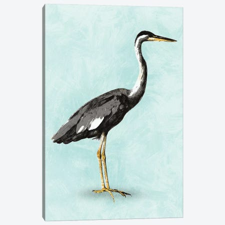 Seashore Bird I Canvas Print #PST656} by PI Studio Canvas Art