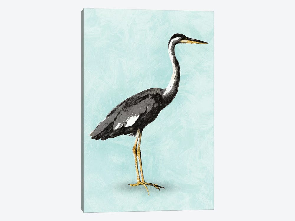 Seashore Bird I by PI Studio 1-piece Canvas Art Print