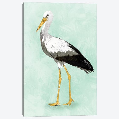 Seashore Bird II Canvas Print #PST657} by PI Studio Canvas Art