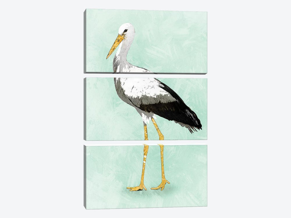 Seashore Bird II by PI Studio 3-piece Canvas Artwork
