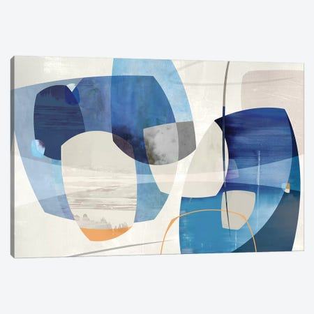 Shapes And Shapes Canvas Print #PST668} by PI Studio Canvas Art