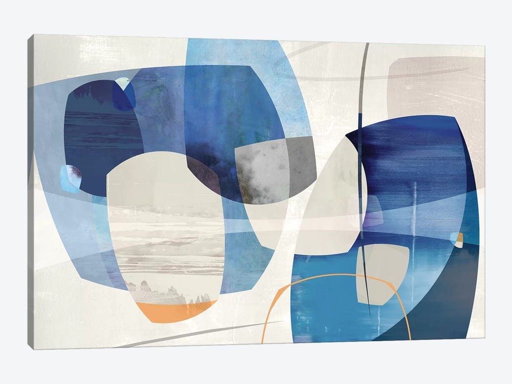 Shapes And Shapes by PI Studio 1-piece Canvas Art