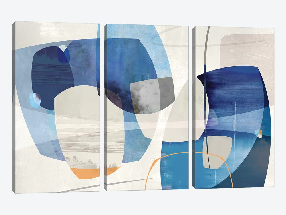 Shapes And Shapes by PI Studio 3-piece Canvas Art