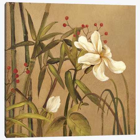 Bamboo Beauty I Canvas Print #PST66} by PI Studio Canvas Print