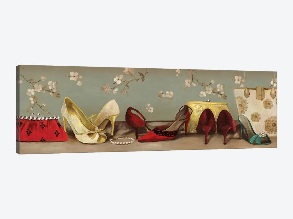 Shoe Lineup by PI Studio 1-piece Canvas Artwork
